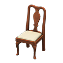 Animal Crossing chaise ancienne