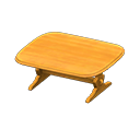 Animal Crossing table ancienne
