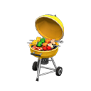 Animal Crossing barbecue