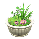 Animal Crossing biotope en pot