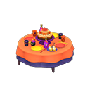 Animal Crossing table d'anniversaire