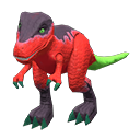 Animal Crossing dinosaure jouet