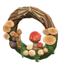 Animal Crossing couronne champignons