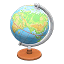 Animal Crossing globe terrestre