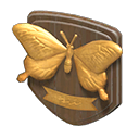 Animal Crossing plaque ornementale insecte