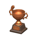 Animal Crossing trophée pêche bronze