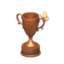 Animal Crossing trophée insecte bronze