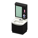 Animal Crossing meuble lavabo